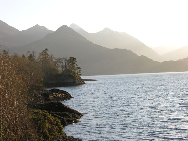 View up Loch Duich