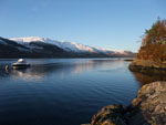 Loch Duich in winter