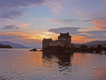 Eilean Donan Castle at Sunset
